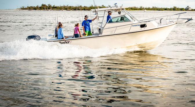 25' Parker Fishing Charter Boat